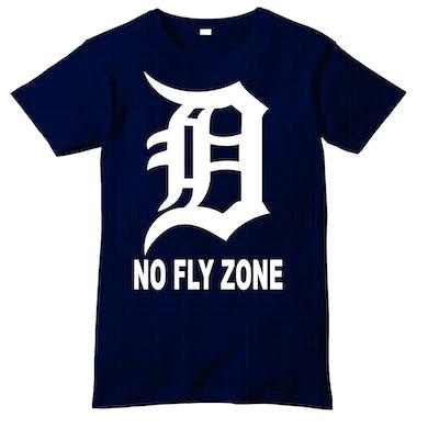 Iconic No Fly Zone Navy Shirt