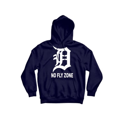 Iconic No Fly Zone Navy Hoodie