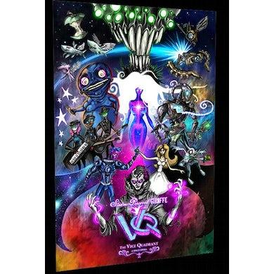 Steam Powered Giraffe Vice Quadrant Poster (12'' x 18'')