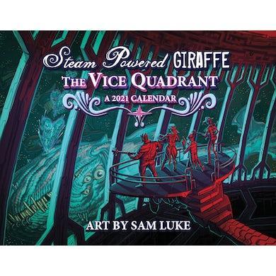 Steam Powered Giraffe The Vice Quadrant 2021 Calendar