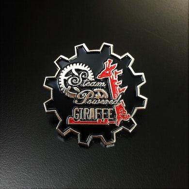 Steam Powered Giraffe Metal Logo Pin