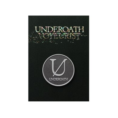 "Underoath ""U"" Pin"