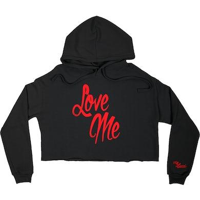 YFN Lucci Love Me/Hate Me Crop Hoodie
