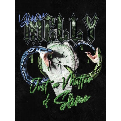YNW Melly Just a Matter of Slime Poster Black