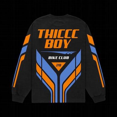 Brendan Schaub Thiccc Boy Bike Club Long Sleeve Jersey