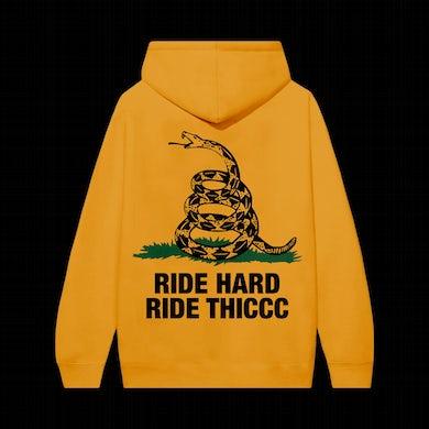 Brendan Schaub Ride Hard Ride Thiccc Hoodie