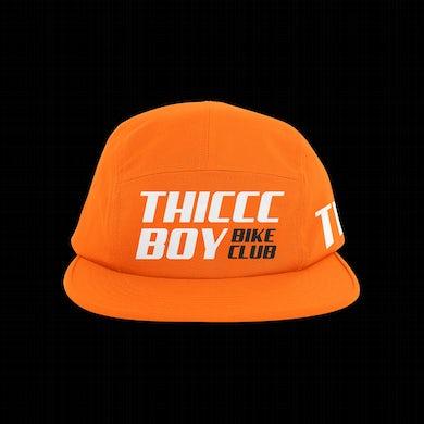 Brendan Schaub Thiccc Boy Bike Club 5-Panel Orange Hat