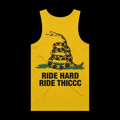 Brendan Schaub Ride Hard Ride Thiccc Snake Tank