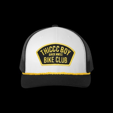 Brendan Schaub Bike Club White Trucker Hat