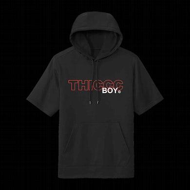 Brendan Schaub Thiccc Boy Logo Short Sleeve Hoodie