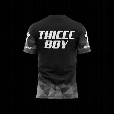 Brendan Schaub Thiccc Boy x Specialized Short Sleeve Grey Jersey