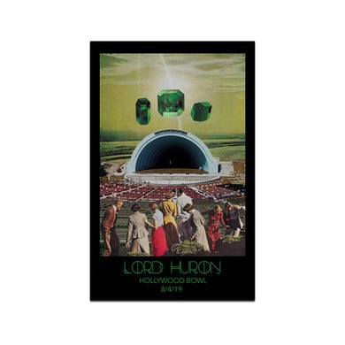 Lord Huron Hollywood Bowl Poster  August 4, 2019