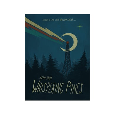Lord Huron Alive from Whispering Pines Poster
