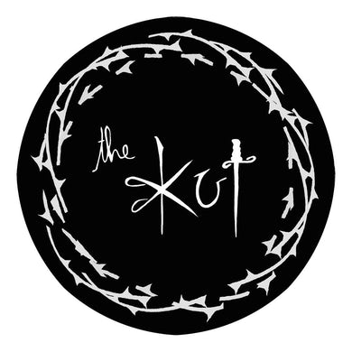 Iron on The Kut 8cm Circular Logo Patch
