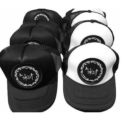 The Kut Black & White Snapback Cap