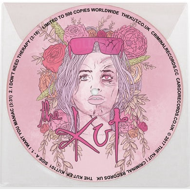 """The Kut - Limited Edition 7"""" Vinyl Self Titled EP"""