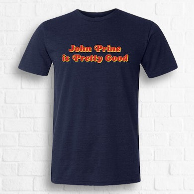 """""""Is Pretty Good"""" Tee [Exclusive Red on Navy]"""