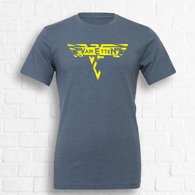 Van Halen Tee [Exclusive Yellow on Blue] [Pre-Order]