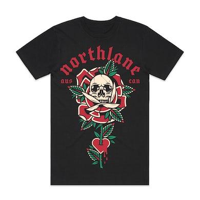 Northlane - Skull Rose T-Shirt
