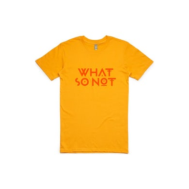 What So Not | World Tour Tee