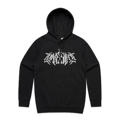 Metal Logo Hood | Black