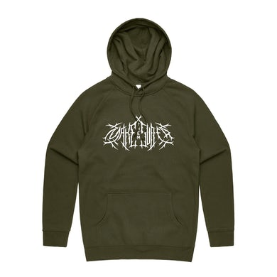 Metal Logo Hood   Army