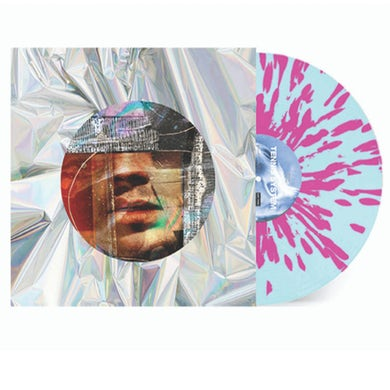 """""""Autophobia"""" Transparent Blue with Solid Pink Splatter Vinyl ***Limited to 200*** (Pre-Order)"""