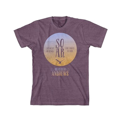 Meredith Andrews Soar Purple T-Shirt
