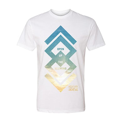 Meredith Andrews Open Up the Heavens White Arrow T-Shirt