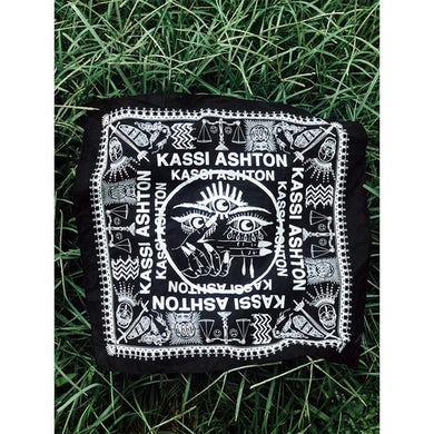 Kassi Ashton Black Bandana