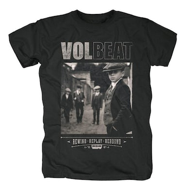 Volbeat Rewind Replay Rebound Cover T-Shirt
