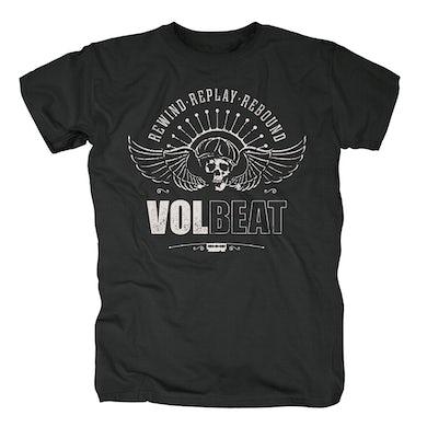 Volbeat RRR SKULLWING T-SHIRT