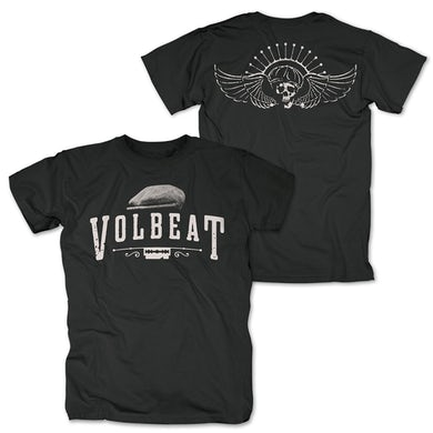 Volbeat SIX PENCE BLACK T-SHIRT