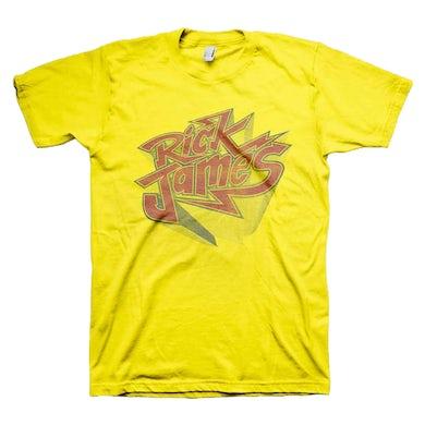 Rick James Yellow Bolt T-Shirt