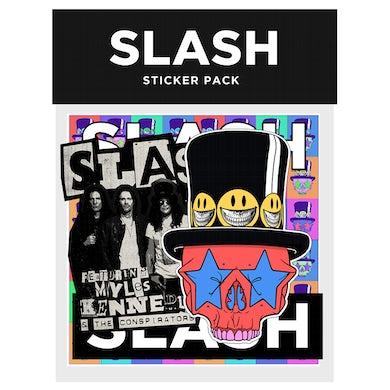 Slash Sticker 4 Pack