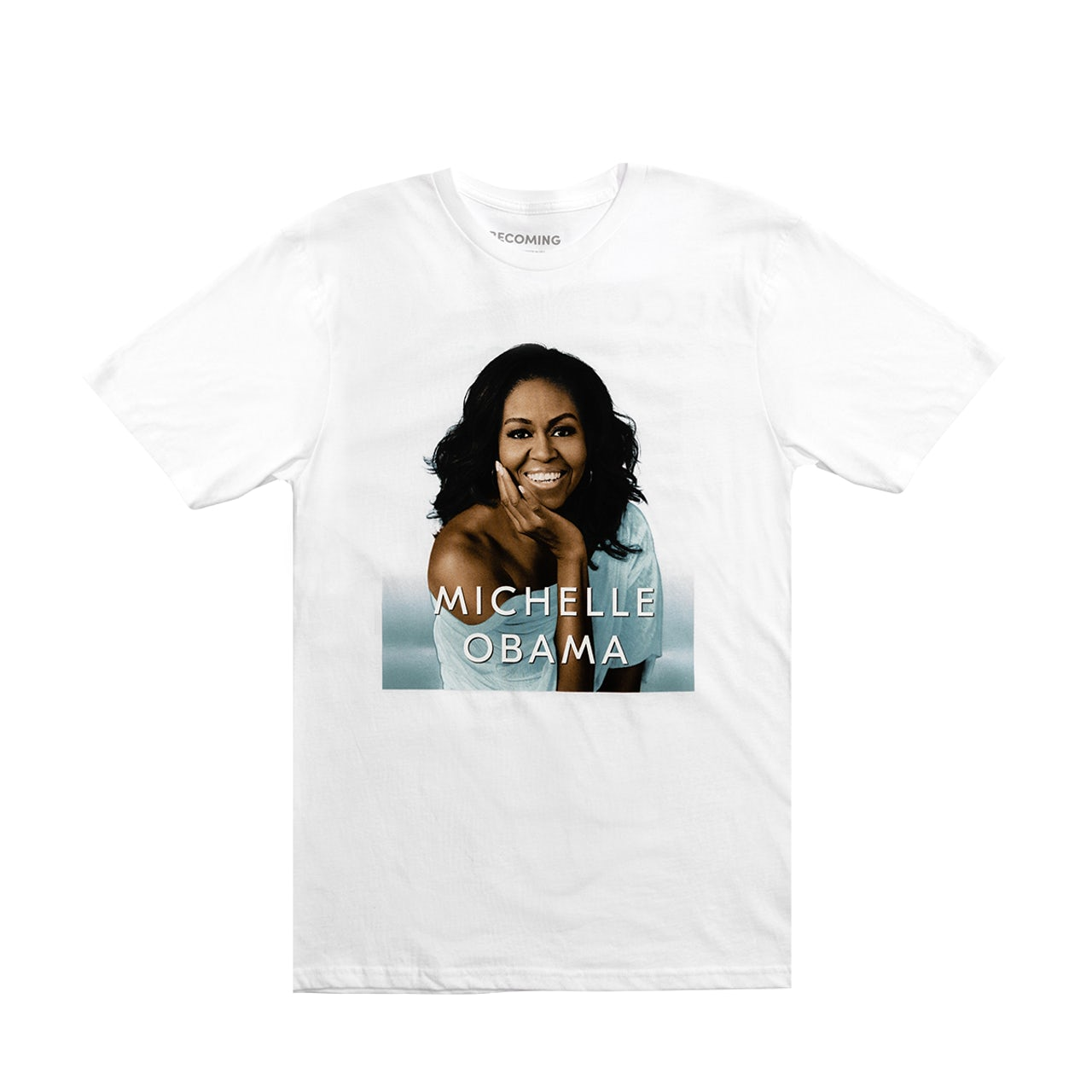 Michelle Obama BECOMING Book Cover T-shirt