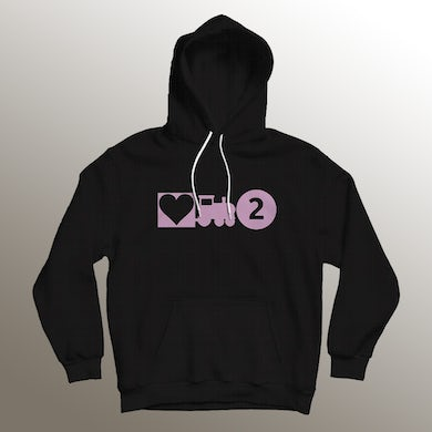 Asiahn Love Train 2 Black Hoodie