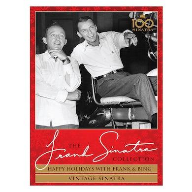 Frank Sinatra Happy Holidays with Frank & Bing + Vintage Sinatra DVD