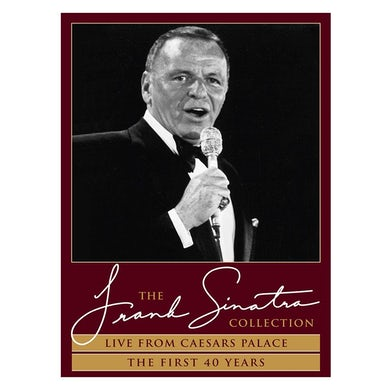 Frank Sinatra Live from Caesars Palace + The First 40 Years DVD