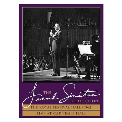Frank Sinatra The Royal Festival Hall (1962) + Live at Carnegie Hall DVD