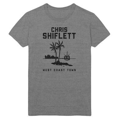Chris Shiflett Twin Palms Tee - Grey