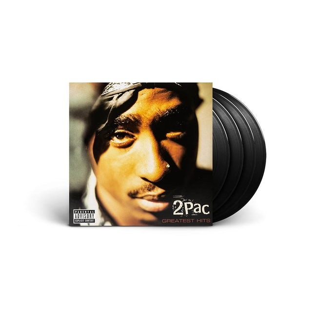 Tupac Greatest Hits - Black 4LP  + Digital Album