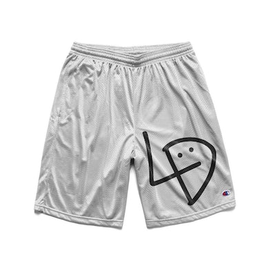 Lil Dicky Signature White Basketball Shorts