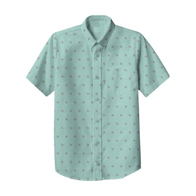 Lil Dicky Mint Button Down Shirt