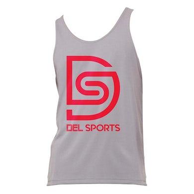 DEL RECORDS DS Logo Fitness Mesh Tank