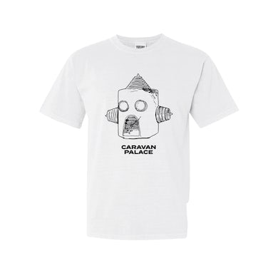Caravan Palace Drawbot T-Shirt - Men's