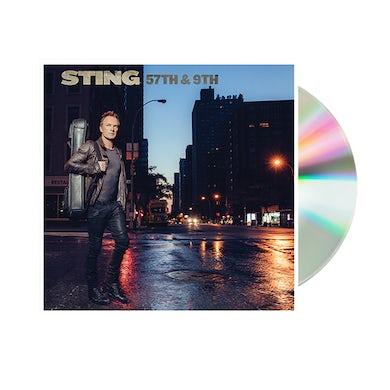 Sting 57th & 9th Standard CD