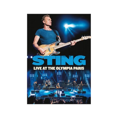 Sting: Live At the Olympia Paris DVD