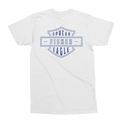 FISHER SPREAD EAGLE TEE - WHITE