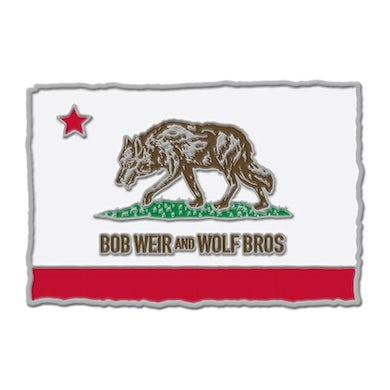 Bob Weir & Wolf Bros Enamel Pin